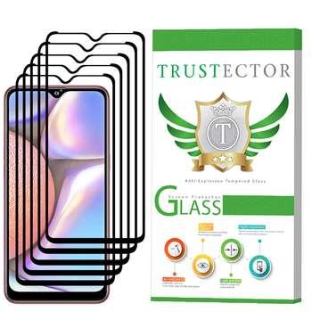 محافظ صفحه نمایش تراستکتور مدل GSS مناسب برای گوشی موبایل سامسونگ Galaxy A10s بسته 5 عددی