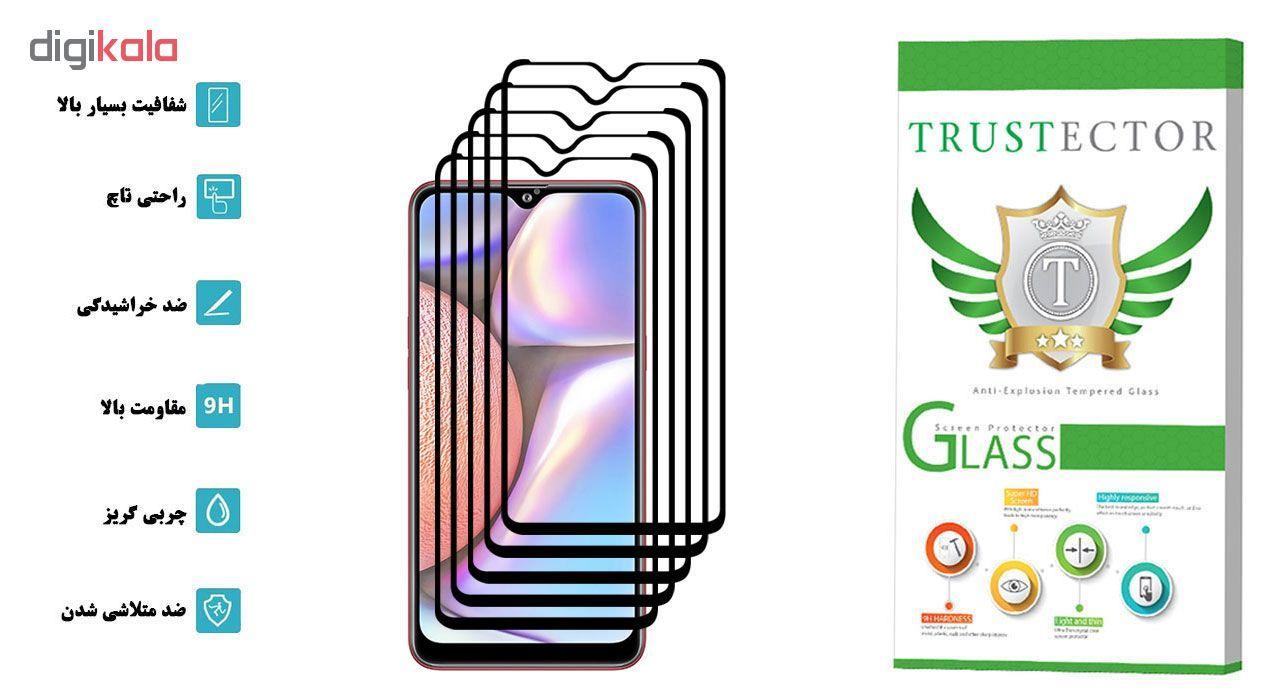محافظ صفحه نمایش تراستکتور مدل GSS مناسب برای گوشی موبایل سامسونگ Galaxy A10s بسته 5 عددی main 1 2