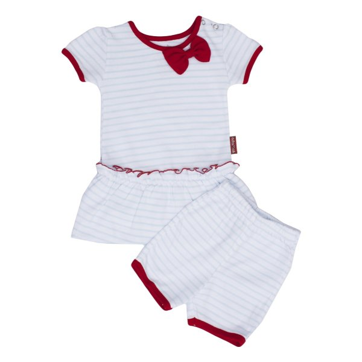 ست 2 تکه لباس دخترانه آدمک مدل 1244001B