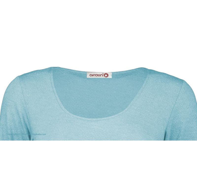بادی زنانه افراتین کد 9508/3 رنگ آبی
