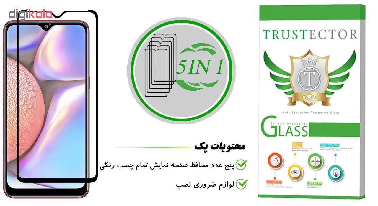 محافظ صفحه نمایش تراستکتور مدل GSS مناسب برای گوشی موبایل سامسونگ Galaxy A10s بسته 5 عددی main 1 1