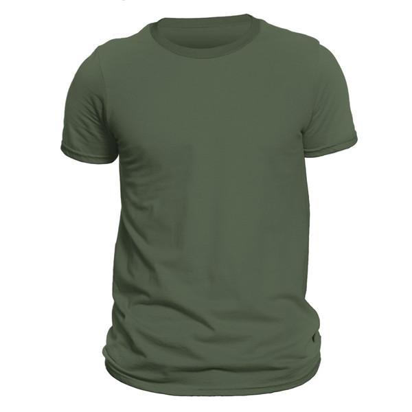 تیشرت آستین کوتاه مردانه کد DC-1ZGR رنگ سبز