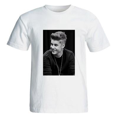 Photo of تی شرت آستین کوتاه زنانه  طرح جاستین بیبر کد 4858