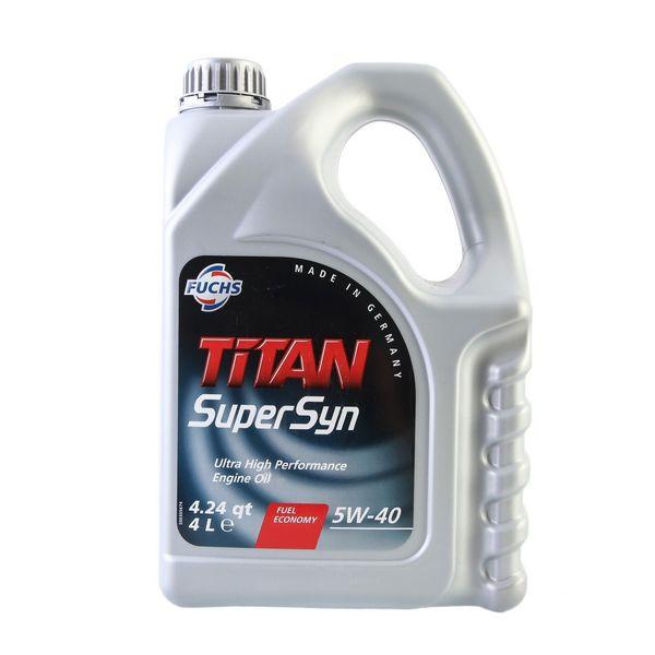 روغن موتور فوکس مدل TITAN ظرفیت 4 لیتر