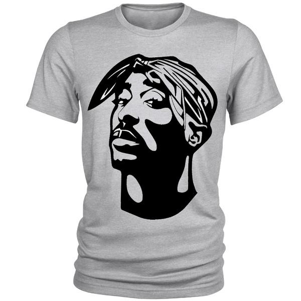 تی شرت مردانه طرح Tupac کد A021
