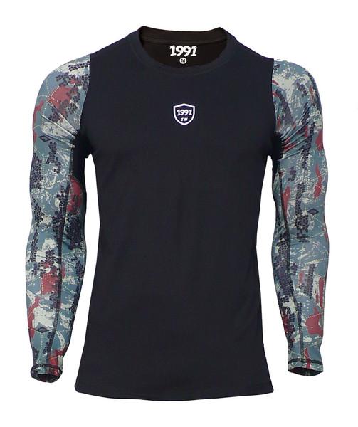 پیراهن ورزشی مردانه 1991 اس دبلیو مدل Base Layer Long Printed TS1928