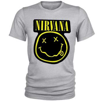 تی شرت مردانه طرح Nirvana کد A029