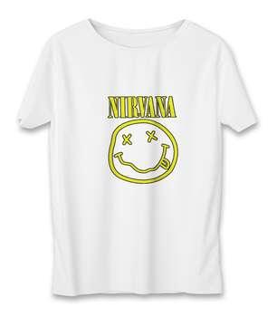 تی شرت مردانه به رسم طرح نیروانا کد 3342