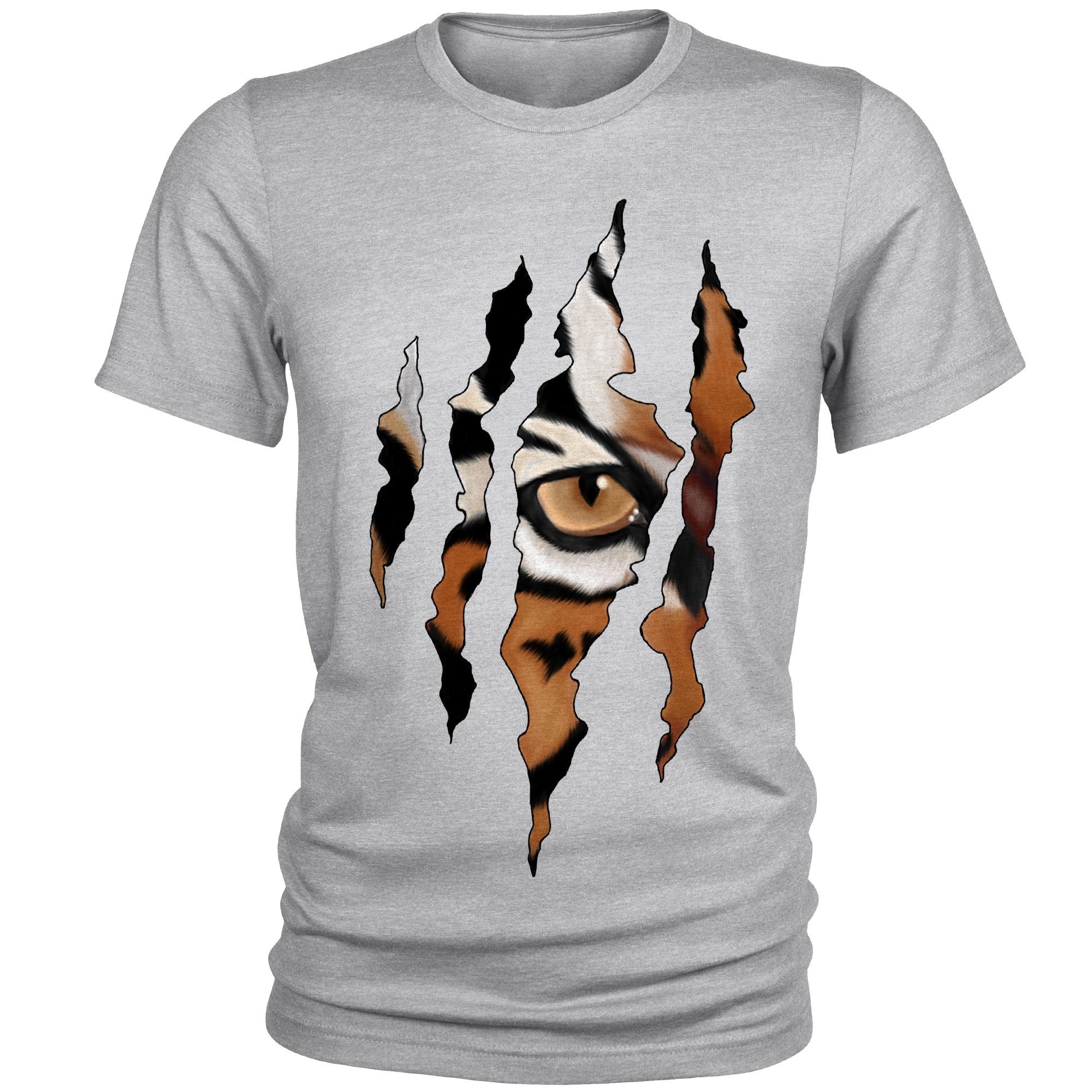 تی شرت مردانه طرح ببر کد A043