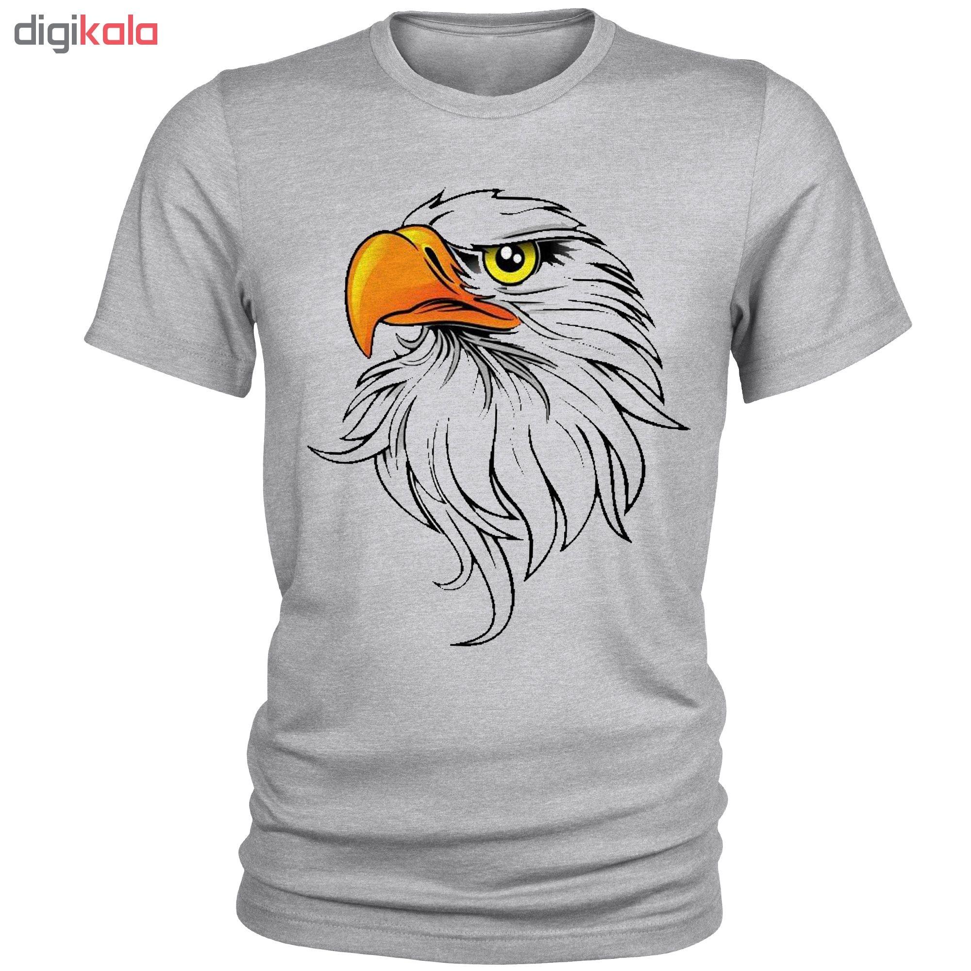 تی شرت مردانه طرح عقاب کد A044