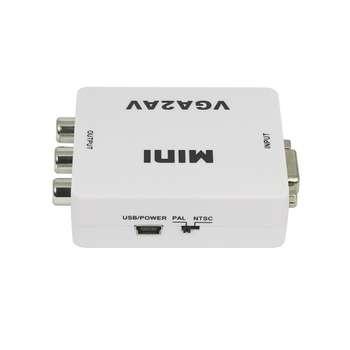 مبدل VGA به AV مدل MINI