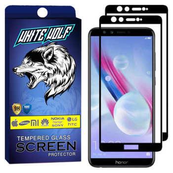محافظ صفحه نمایش وایت ولف مدل WGF مناسب برای گوشی موبایل آنر 9 Lite بسته 2 عددی