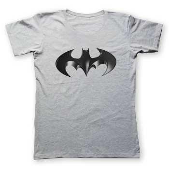 تی شرت مردانه به رسم طرح بتمن سه بعدی کد 2227