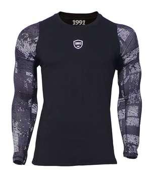 پیراهن ورزشی مردانه 1991 اس دبلیو مدل Base Layer Long Printed TS1927
