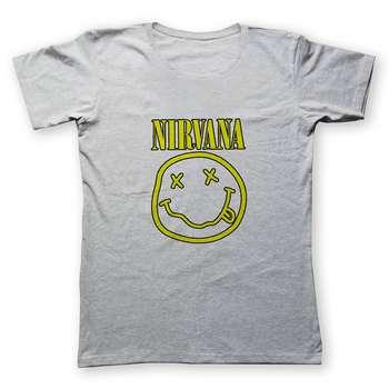 تی شرت مردانه به رسم طرح نیروانا کد 2242
