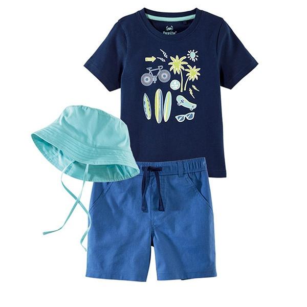 ست 3 تکه لباس پسرانه لوپیلو کد B210