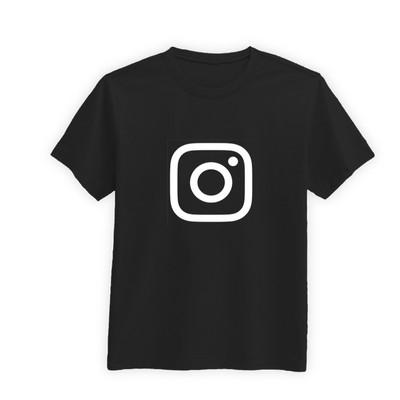 تی شرت مردانه طرح لوگوی اینستاگرام کد BW33021