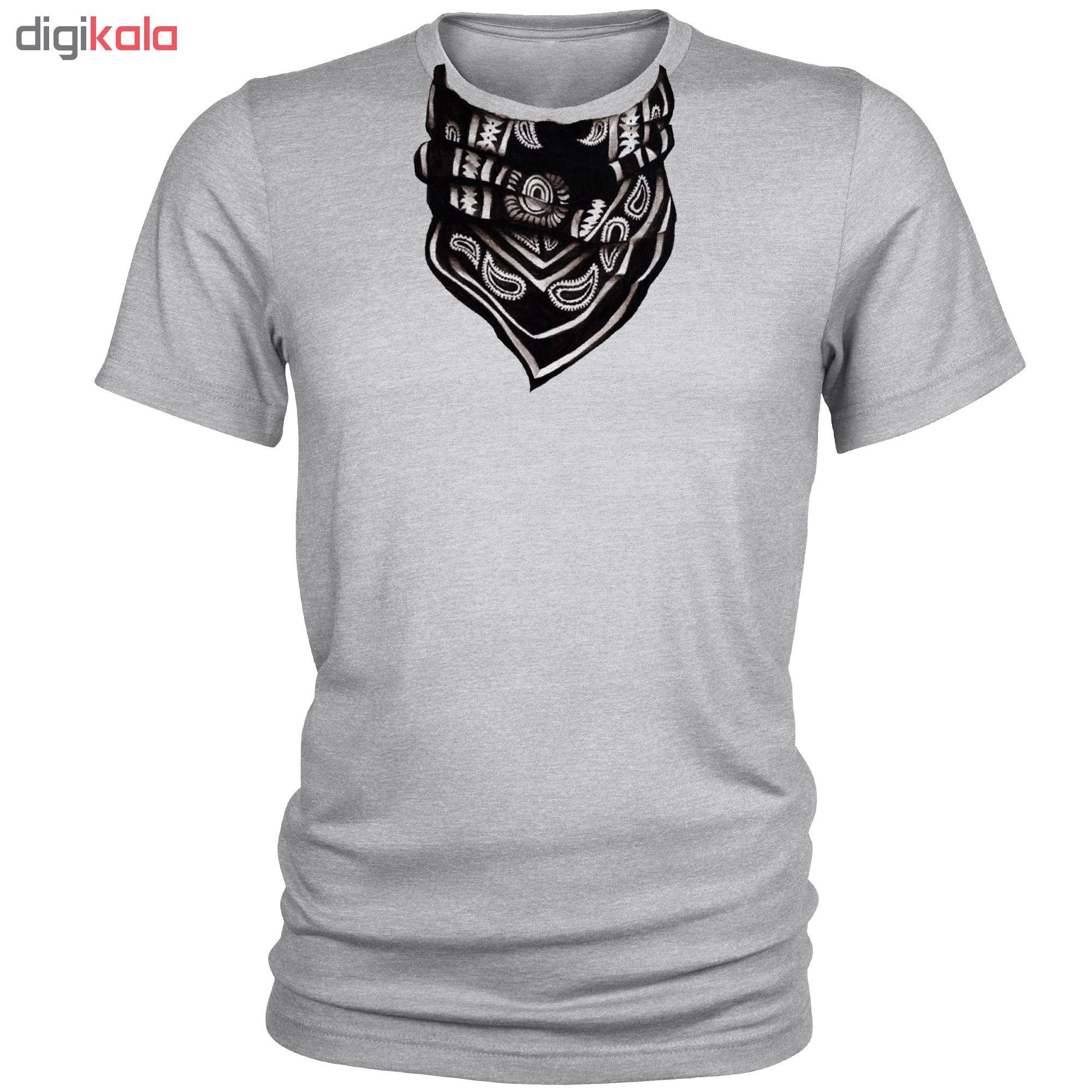 تی شرت مردانه طرح اسکارف کد A037