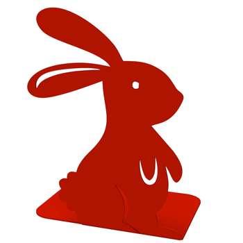 نگهدارنده کتاب نوآوران شریف طرح خرگوش کد TBG_03_012