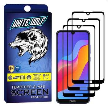 محافظ صفحه نمایش وایت ولف مدل WGF مناسب برای گوشی موبایل آنر  Play 8A بسته 3 عددی