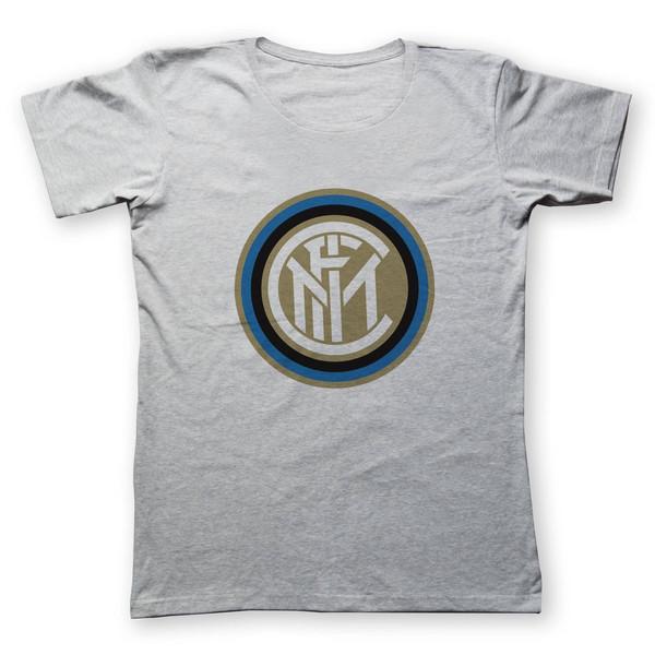 تی شرت مردانه به رسم طرح اینتر میلان کد 2218