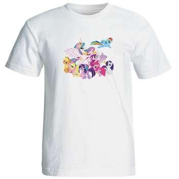 تی شرت زنانه طرح پونی کد 17210