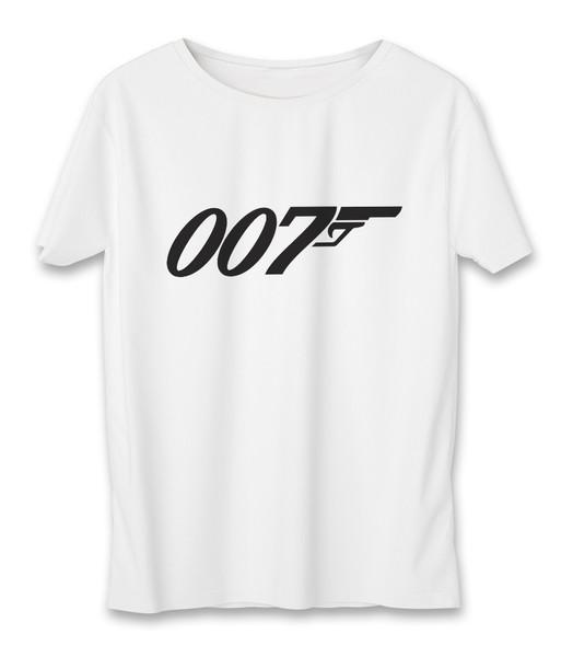 تی شرت مردانه به رسم طرح جیمز باند کد 3337