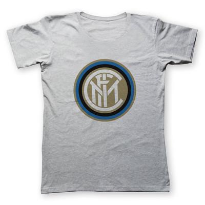 تی شرت زنانه به رسم طرح اینتر میلان کد 4418