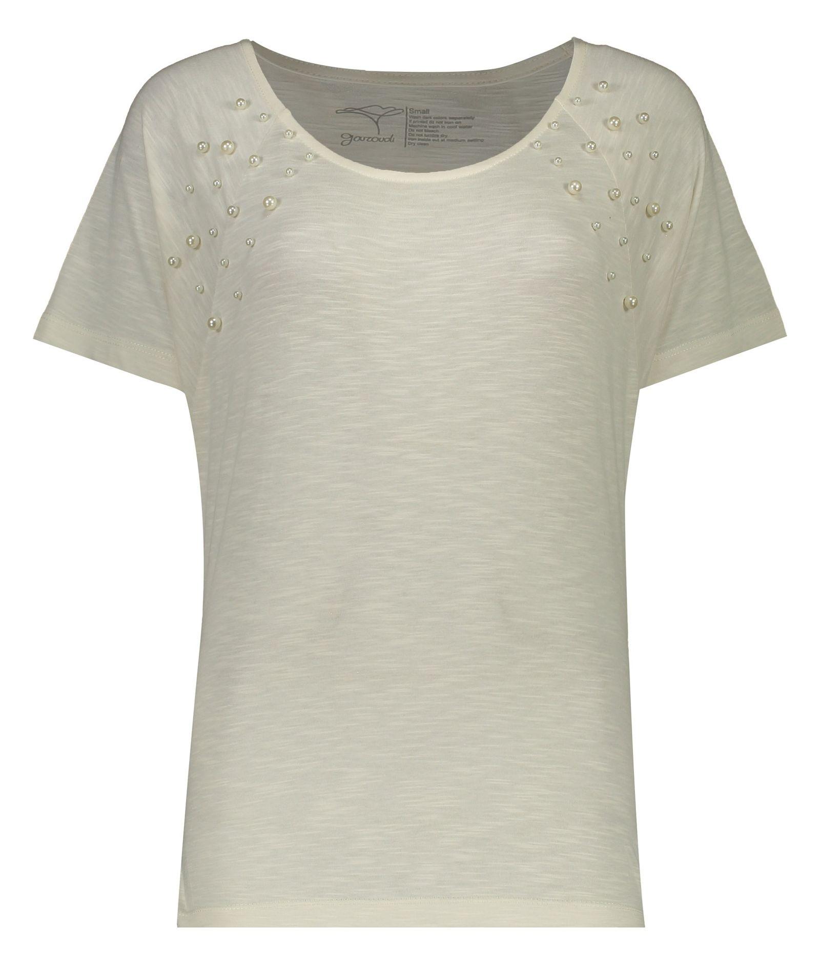 تی شرت زنانه گارودی مدل 1003104023-91 -  - 1