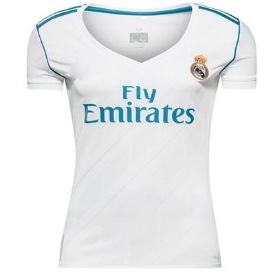 تصویر پیراهن ورزشی زنانه طرح رئال مادرید کد 2018