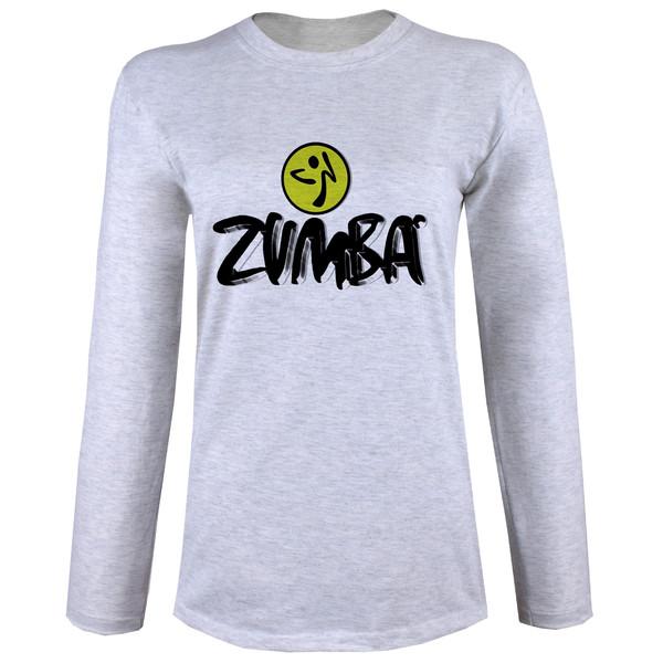 تی شرت  آستین بلند زنانه  طرح زومبا کد B73