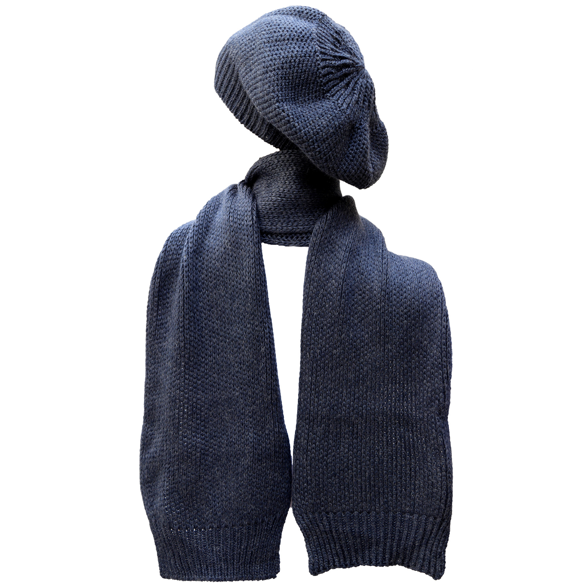 ست کلاه و شال گردن بافتنی مدل z109