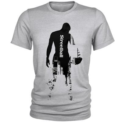 تصویر تی شرت مردانه طرح Streetball کد A047