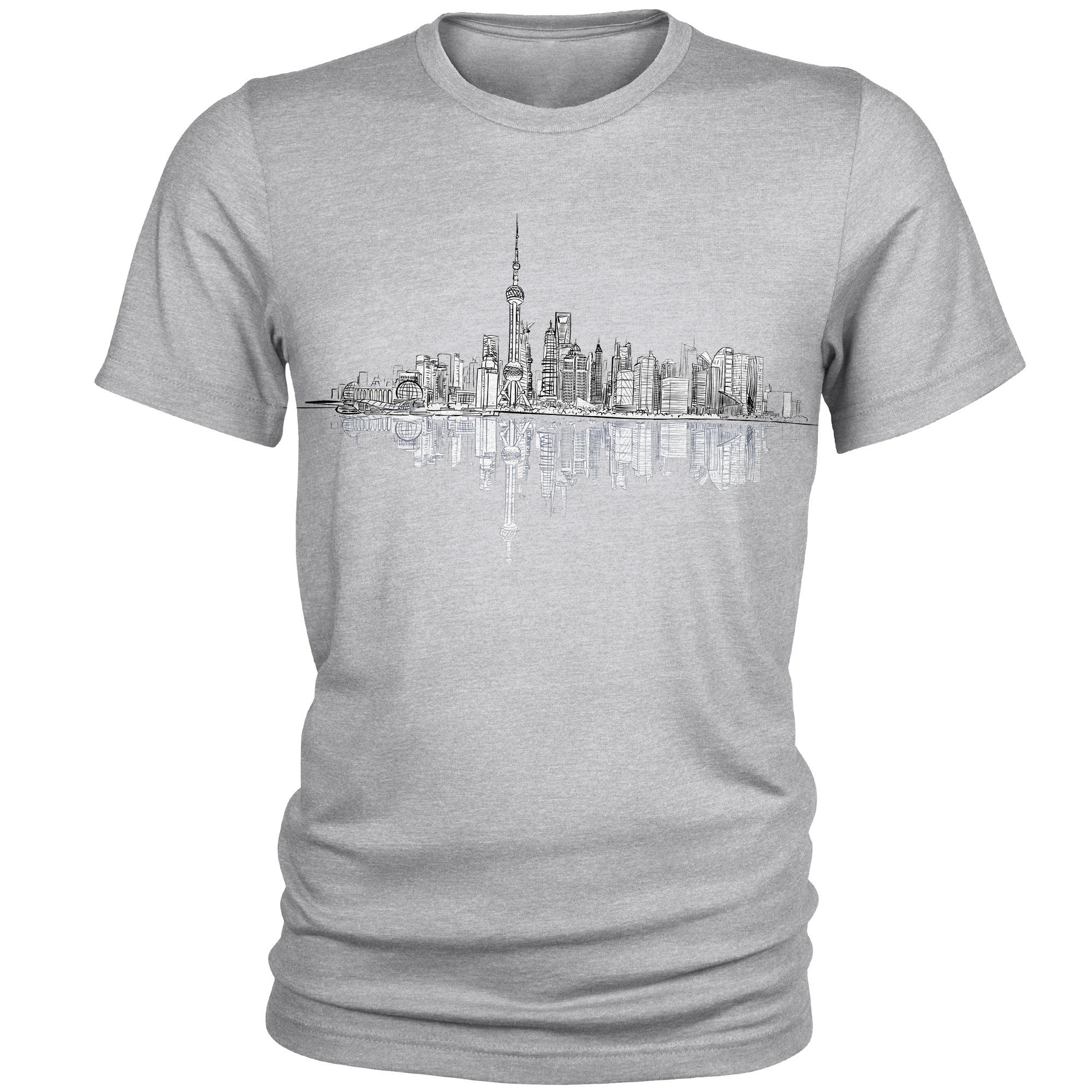 Photo of تی شرت مردانه طرح City کد A058