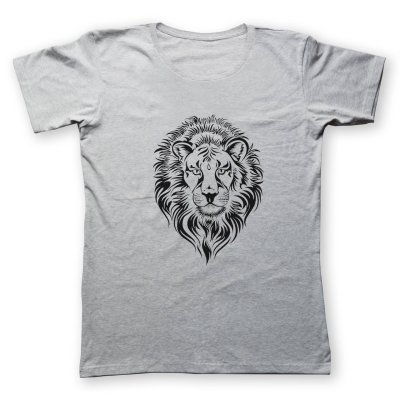 Photo of تی شرت مردانه به رسم طرح شیر کد 2232