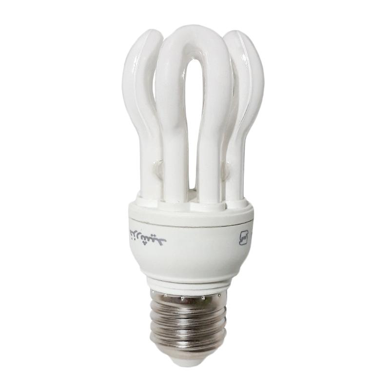 لامپ کم مصرف 13 وات خزرشید مدل لوتوس پایه E27