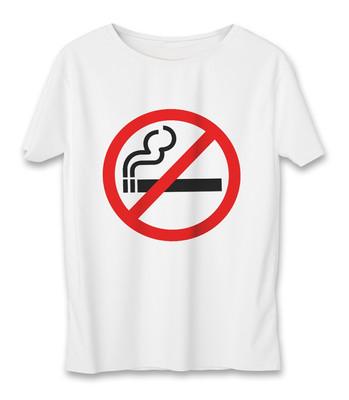 تی شرت زنانه به رسم طرح سیگار ممنوع کد 5515