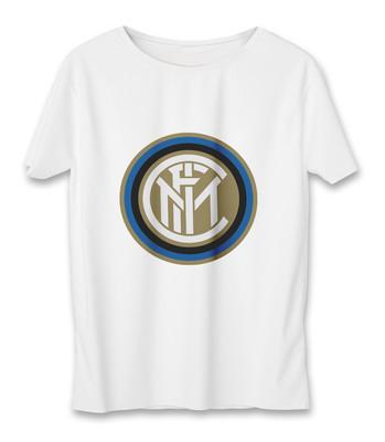 تی شرت زنانه به رسم طرح اینتر میلان کد 5518