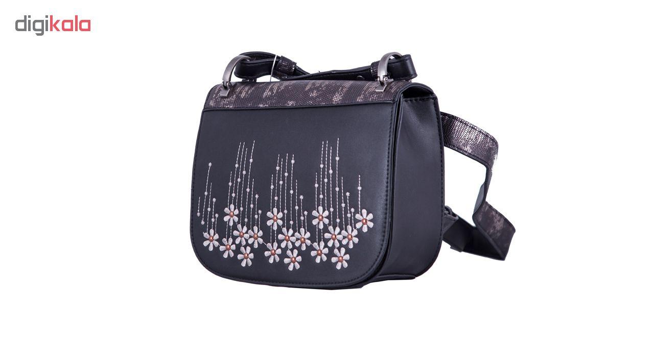 کیف دوشی زنانه دیوید جونز مدل 3263