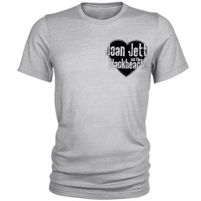 تصویر تی شرت مردانه مدل Black heart کد A099