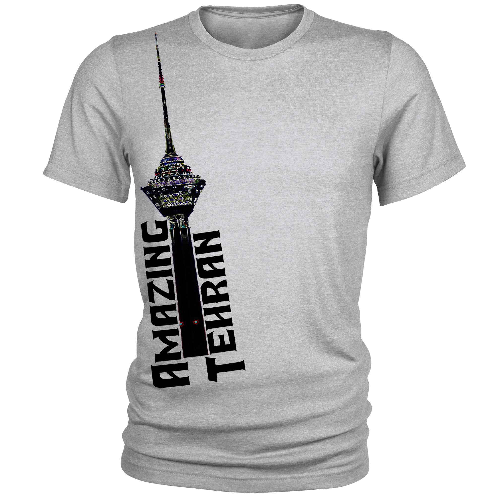 Photo of تی شرت مردانه مدل  Milad Tower کد A075