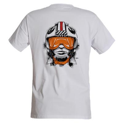 تصویر تی شرت مردانه مسترمانی طرح خلبان کد 1153