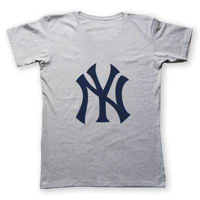 تی شرت زنانه به رسم طرح نیویورک کد 4417