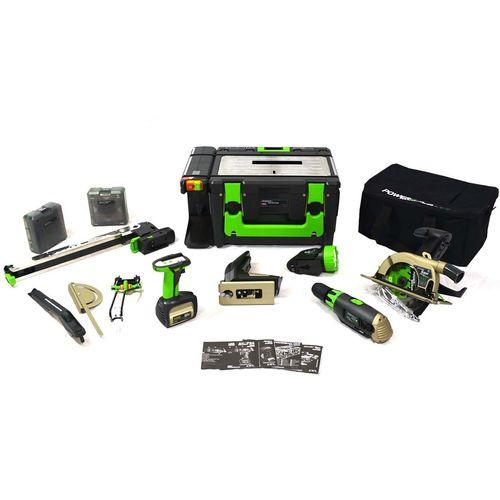 مجموعه ابزار کارگاهی قابل حمل سل مدل Power8 WS-3E