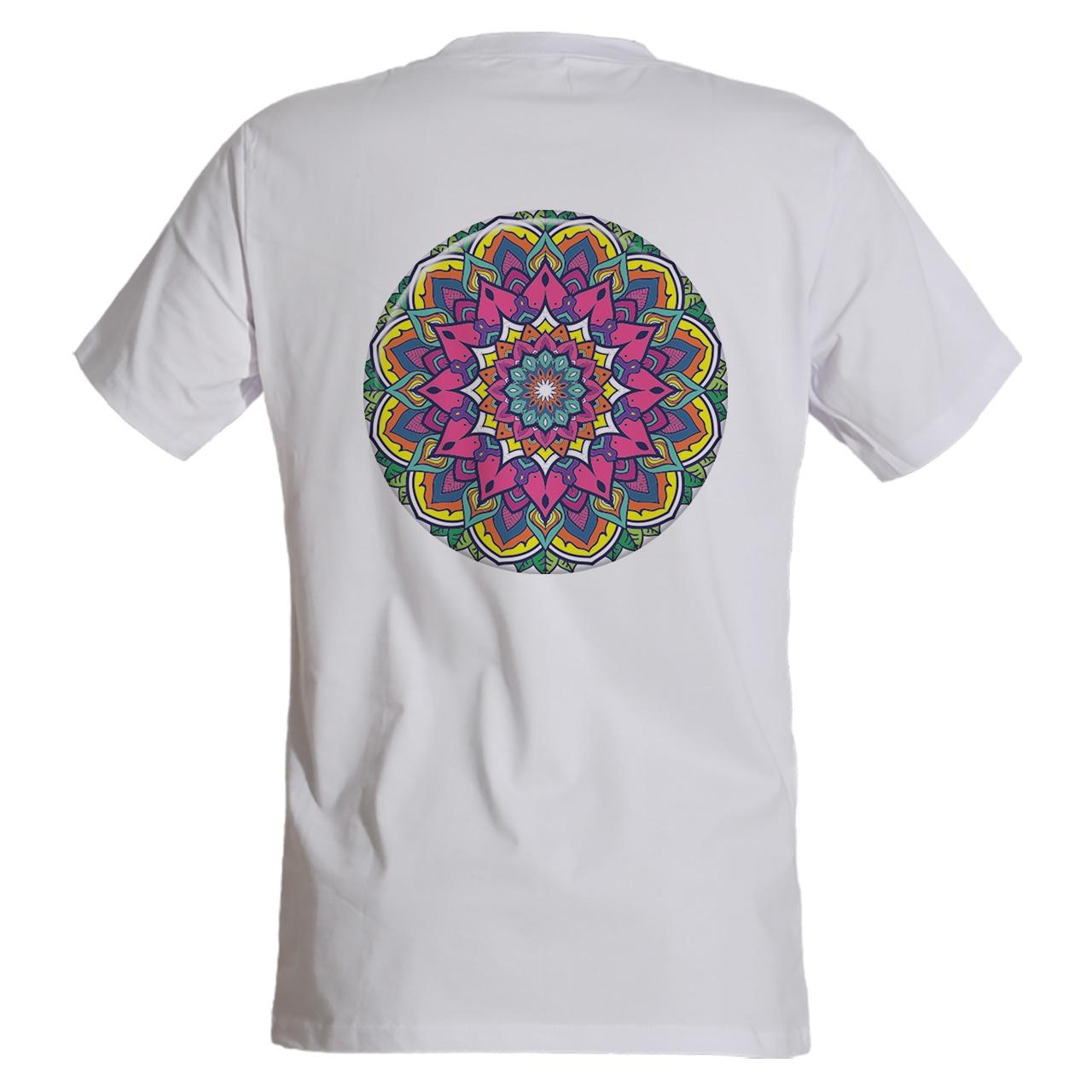 تی شرت مردانه مسترمانی طرح سنتی مدل ماندالا کد 1158