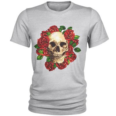 تصویر تی شرت مردانه طرح اسکلت کد B41