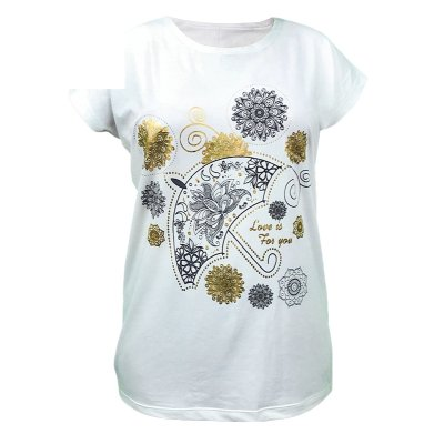 تی شرت زنانه کد 4740