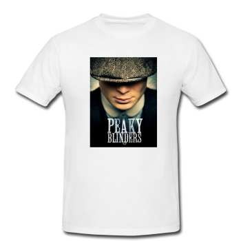 تیشرت مردانه طرح پیکی بلاندرز - peaky blinders کد 0096