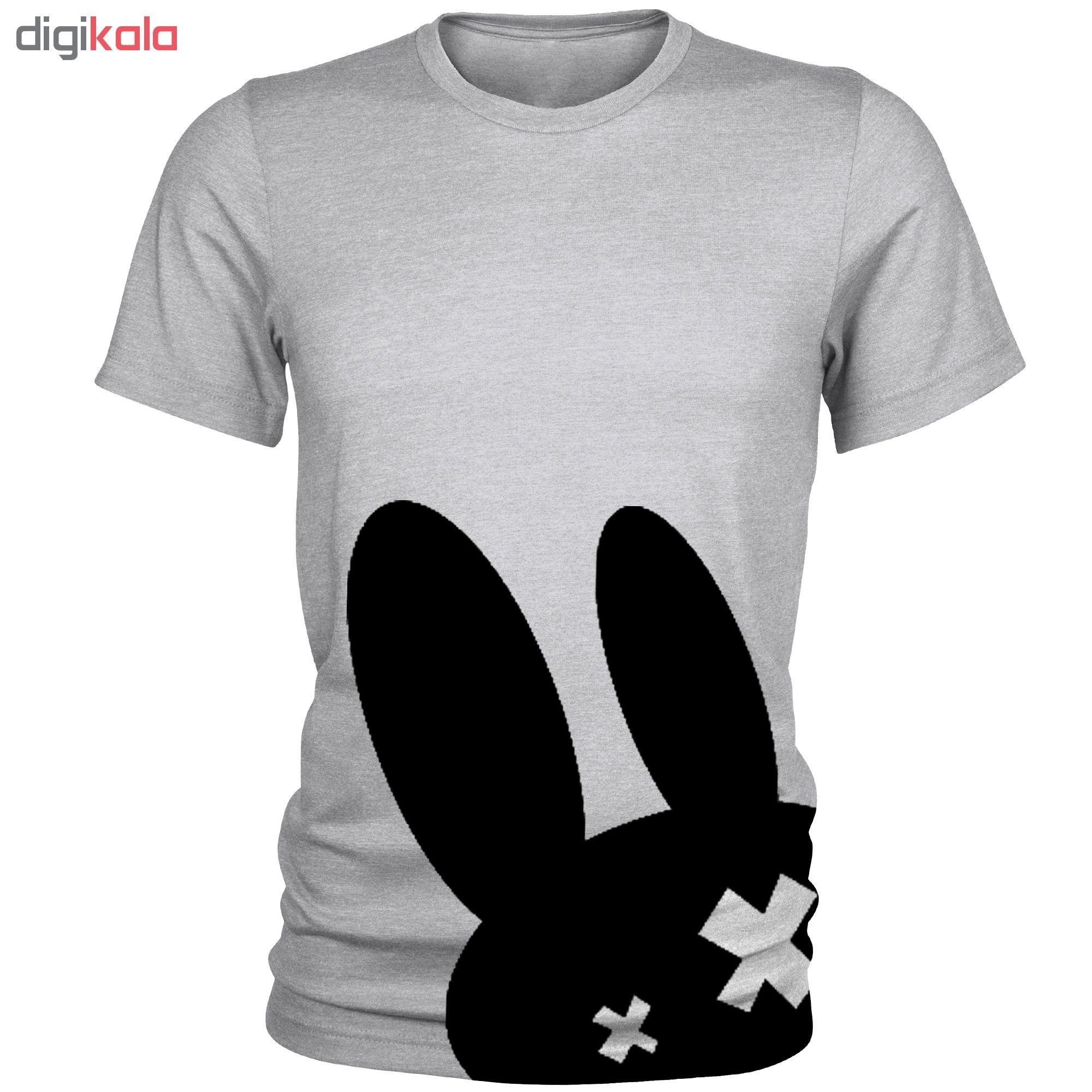 تی شرت مردانه مدل Black Robbit کد A085