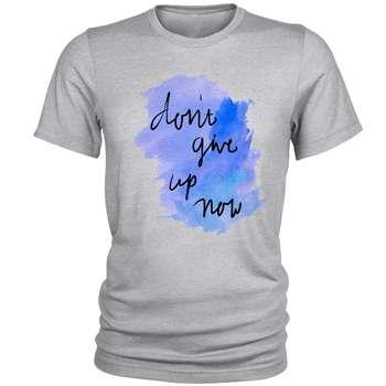 تی شرت مردانه مدل Dont Give up کد A119